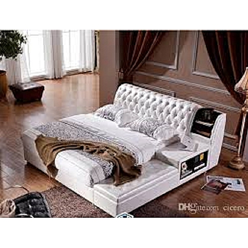 Robert Bed Frame In All Sizes (mattress, Dressing Mirror Set & Foot Rest Available On Request), DELIVERY IN LAGOS.