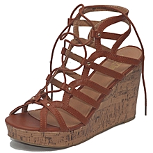 67e1a096c1c3 Women  039 s Slay High Wedge - Brown