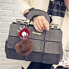 71e623c91c Crossbody Handbags Tide Single Shoulder Bag Hair Ball Portable Messenger Bag