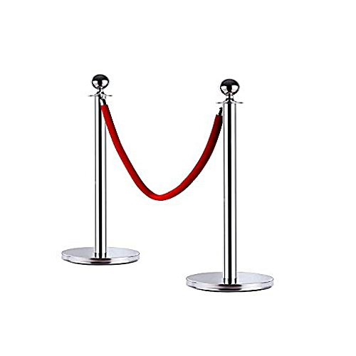 Stainless Steel Crowd Control Barrier Stands And Ropes