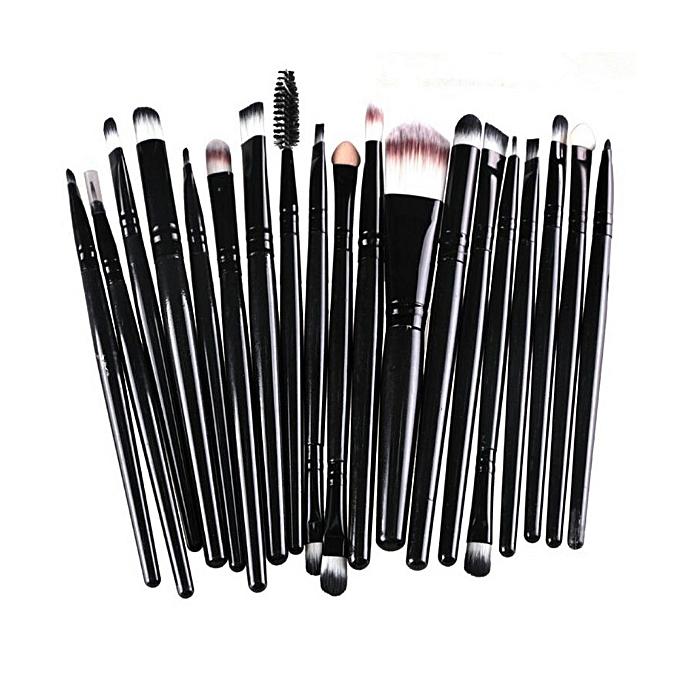 20 Piece Professional Makeup Brush Set ...