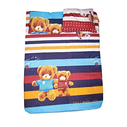 Baby Bed Sheets For Cot And Crib  Multicolour