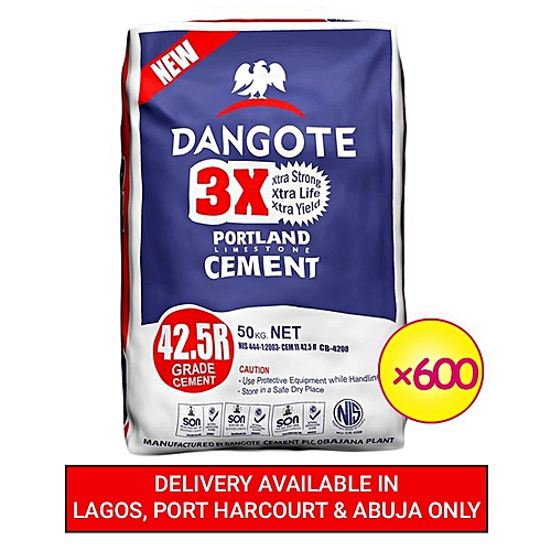 600 Units Of Cement - Bundle