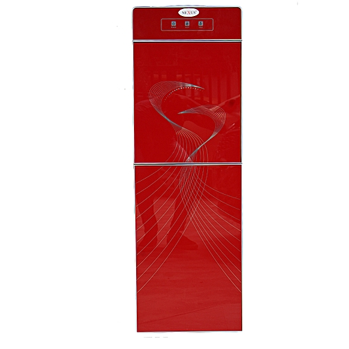 Water Dispenser NX-018RI With Fridge (Red)
