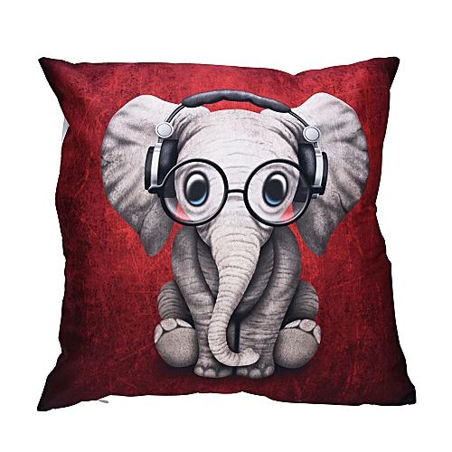 Print Pillow Cases Polyester Sofa Car Cushion Cover Home Decor