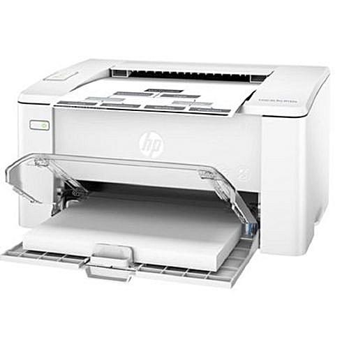 LaserJet Pro 102a Printer - White