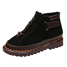 fb03ecb1c2f Fashion Shoes British Wind Chelsea Boots Women's Thick-soled  Colorblock Brock