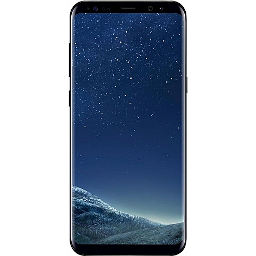 Galaxy S8 Plus (S8+) 6 2-Inch (4GB RAM, 64GB ROM) Android 7 0 Nougat,  12MP+8MP, 4G LTE Smartphone- Midnight Black