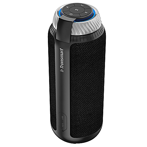 Element T6 25W Portable Bluetooth Speaker With 360°Stereo Sound And Built-in Microphone With 5200mAh Battery - Black