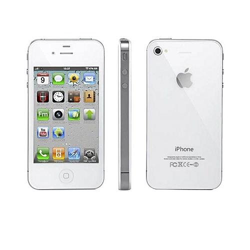 Apple IPhone 4 8GB White (Refurbished)  70180ee6bf