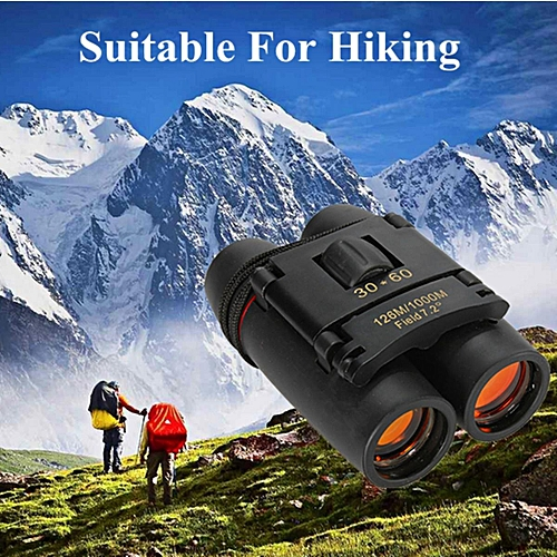 High Quality 30 X 60 Mini Compact Binocular Telescope 126m To 1000m