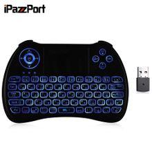 KP - 810 - 21Q Wireless Mini Keyboard With Touchpad - Black