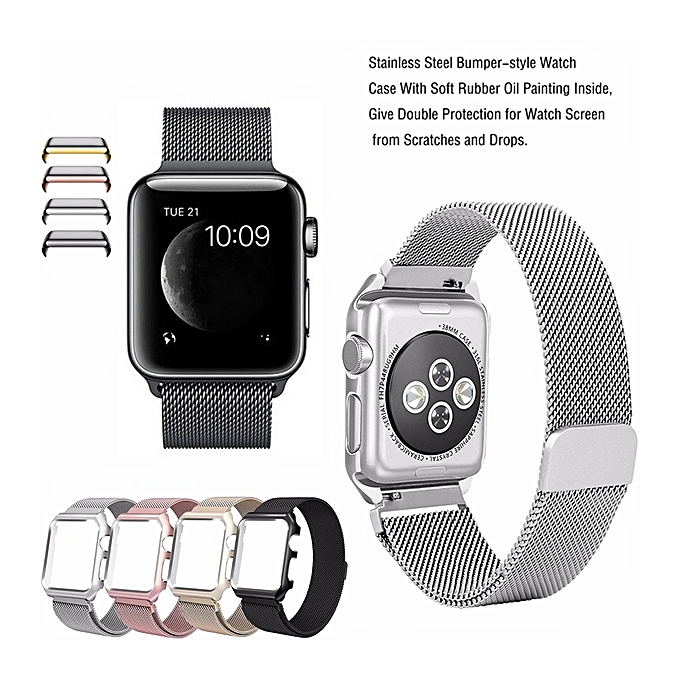 Fashion Colour Gold Fashion Watch Strap For Apple Watch Band 42mm