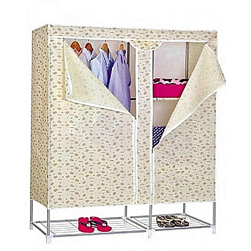 Mobile Wardrobe With Shoe Rack (Different Design)
