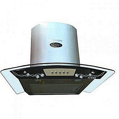 Polystar 50 X 60 Manual Cooker Hood With Flower Pattern PV-HFM60F