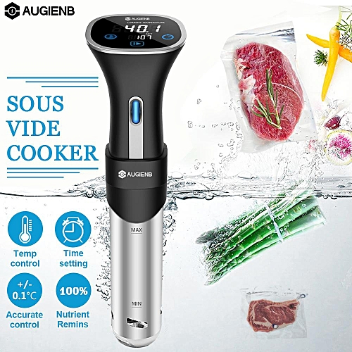 AUGIENB Sous Vide Precision Cooker Immersion Circulator Temperature Control LCD 220-240V EU Plug