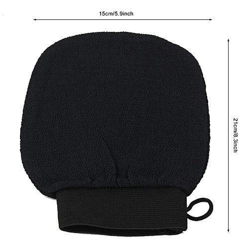 2 Colors 15*21cm Single-layer Exfoliation Washcloth Gloves
