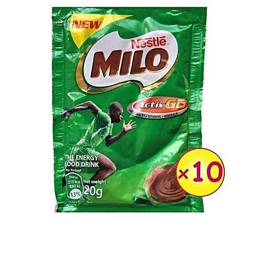 Milo 20g X 10 X 24 (carton)