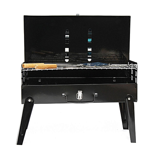 3-5 Person BBQ Barbecue Outdoor Garden Charcoal Barbeque Patio Party Cooking