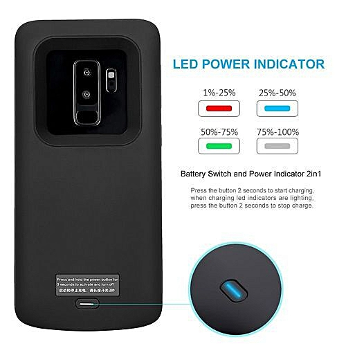 the latest 14232 78d34 Battery Case For Samsung Galaxy S9+ Power Bank Charging Case