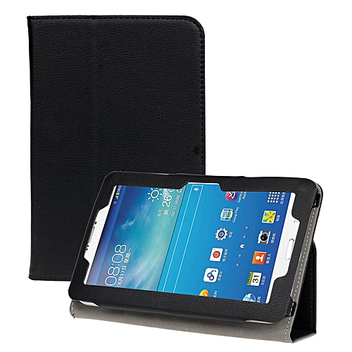 7 Inch Universal Leather Stand Case Cover For Android Tablet PC BK