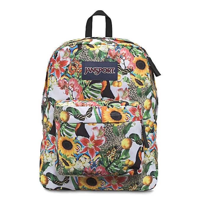 f60e64031f24 JanSport SuperBreak Backpack - Multi Jungle Jam