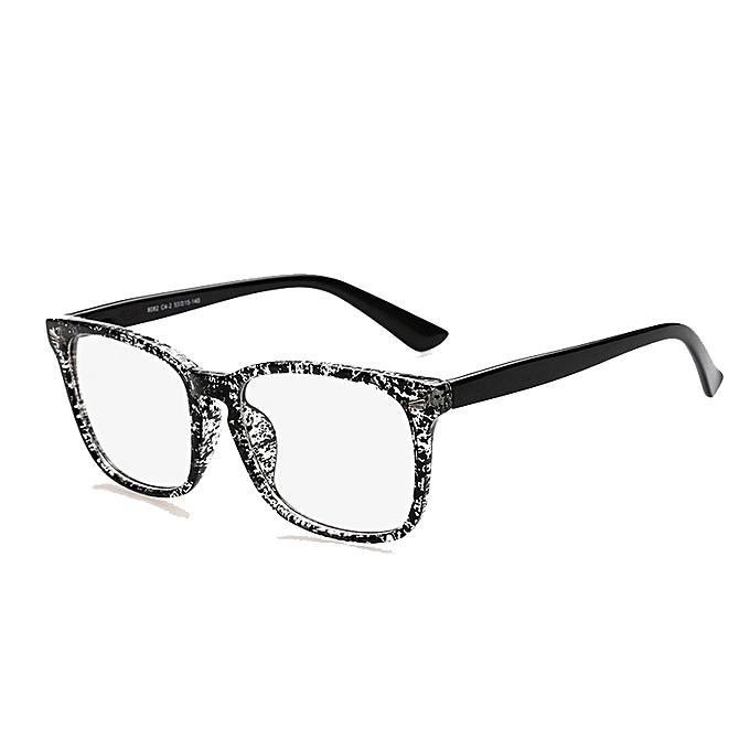 Generic Acetate Eyeglasses Frame Clear Lens Optical Glasses Leopard ...