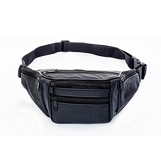3e59e2f397b5 Generic Waterproof Waist Fanny Pack Belt Bag Pouch Travel Sport Hip Purse  Men Women Black Yellow