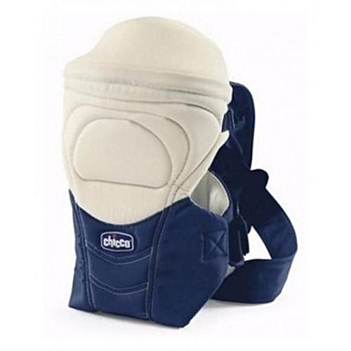 Baby Carrier - Blue And Cream...