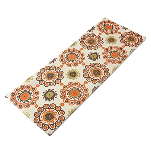 Kitchen Bedroom Bath Floor Carpet Cushion Floral Non-slip Chef Mat Rug 40X60cm
