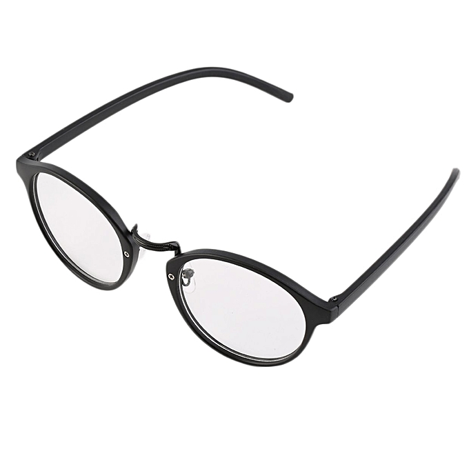 4b9142fdc4a Man Woman Classic Geek Vintage Large Frame Fashion Round Clear Lens Glasses