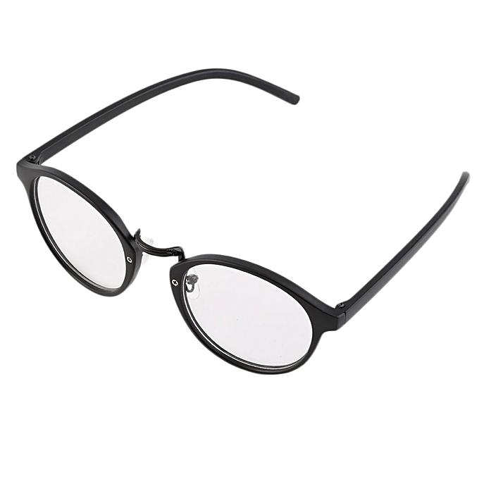 743ceb3b6b Generic Man Woman Classic Geek Vintage Large Frame Fashion Round Clear Lens  Glasses