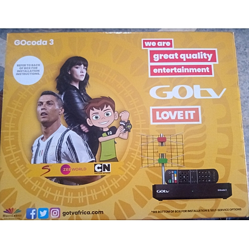 Decoder Plus 1 Free Month Subscription On Gotv Max