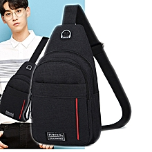 Chest Bag Korean Version Simple Outdoor Riding Casual Carry Chest Bag  Exercise Running Chest Mobile Phone b14c6a759d639