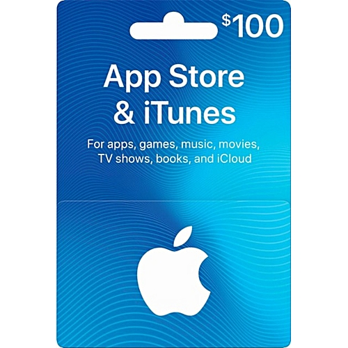 Apple $100 ITunes Gift Cards - USA
