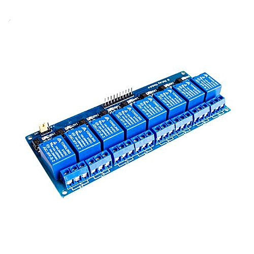 8 Channel Relay Module 8-channel Relay With Optocoupler Isolation Support AVR/51/PIC Single Chip For Arduino