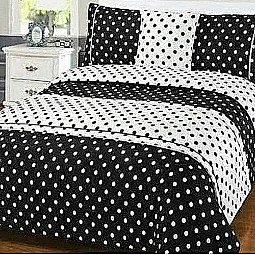 6 By 6 Classy Dotted Cotton Bedspread