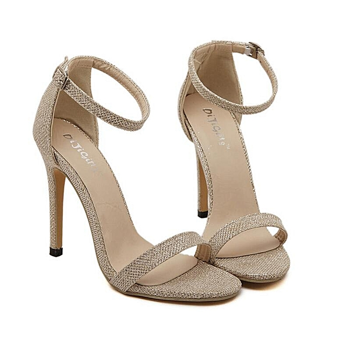 bba3be1282e Sexy Women High Heels Sandals Shoes Woman Party Wedding Ladies Pumps Ankle  Strap Buckle Stilettos Sexy