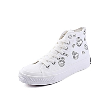 White-UV Color Changing Canvas Shoes Women's Light Feeling Trojan Horse 2020 Tide High Top Board for sale  Nigeria