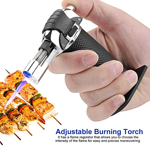 Portable Windproof Lighter Flame Fire Starter BBQ Stove Igniter