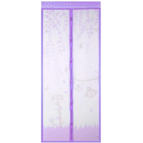 100 X 210CM Anti Mosquito Magnetic Curtain - Purple