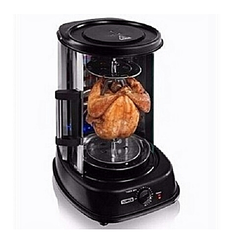 Tower Rotating Vertical Rotisserie Grill - 1500W