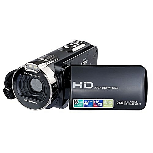 Camcorder Digital Camera Video Recorder 2.7 Inch LCD HD 1080P 24 MP 16X Zoom Video Camcorder