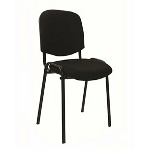 Fabric - Visitor Office Chair (Black) - Delivered Only Within Lagos