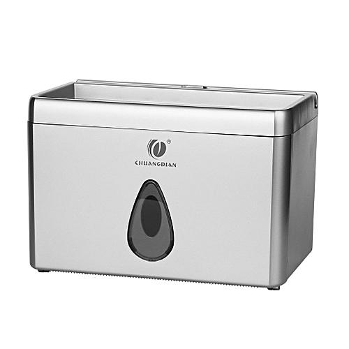 Multi-function Bathroom Toilet Paper Holder Place Mobile Phone Toilet Paper Dispenser Tissue Box