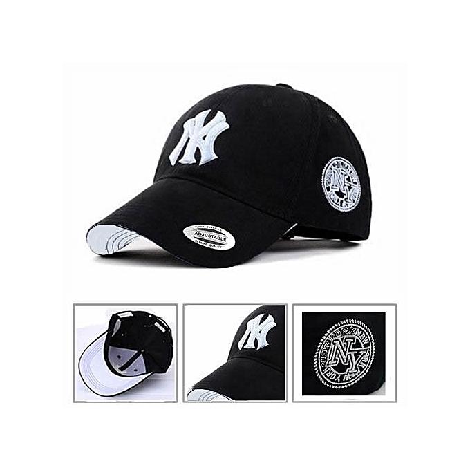 Baseball Face Cap NY Hat With Genuine Sticker
