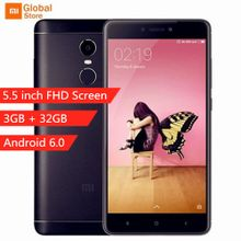 Xiaomi Note 4X 4G Smartphone 5.5 Inch 3GB + 32GB Android 6.0 Snapdragon 625 -Black