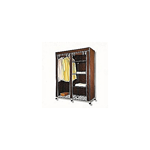Thick Steel Mobile Cloth Wardrobe