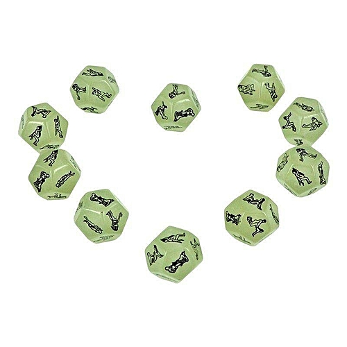 1PC Dice Sex Position Erotic Game Toy Adult Hen Party Funny Novelty Gift12 Sides