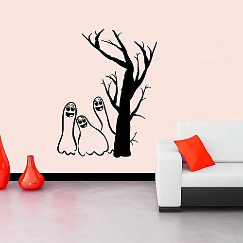 KST-22 Halloween PVC Goblin Wall Stickers Window Decoration Festival Wall Decals Poster